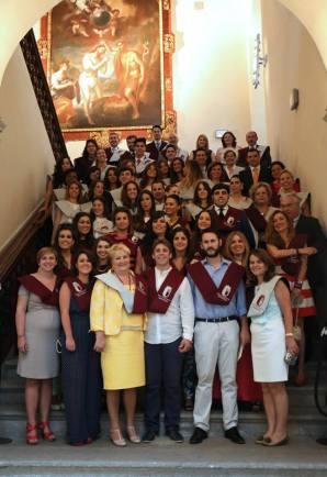 Foto de grupo del Acto de Clausura de Curso de la EIP Granada 2013-2014