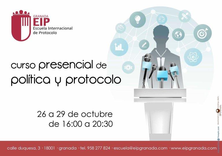 curso presencial de política y protocolo