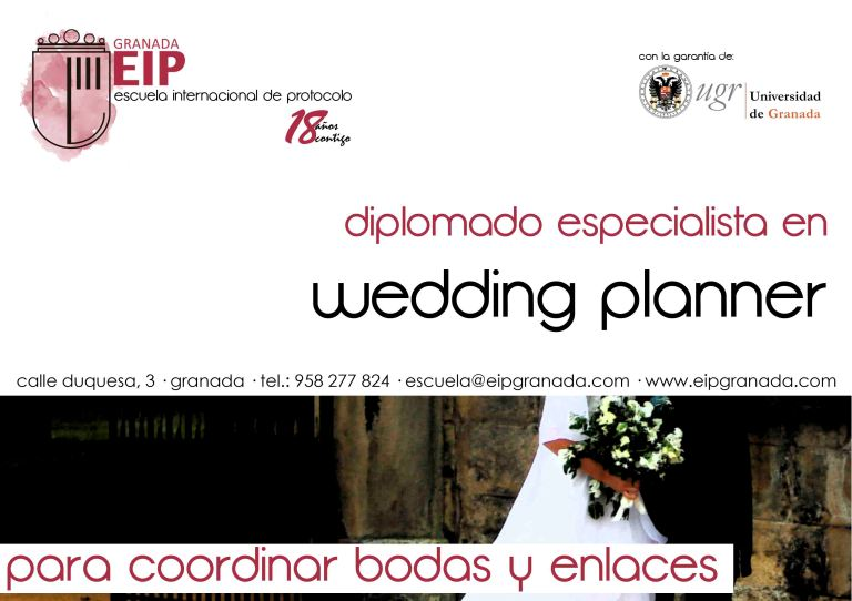 para coordinar bodas y enlaces diplomado wedding