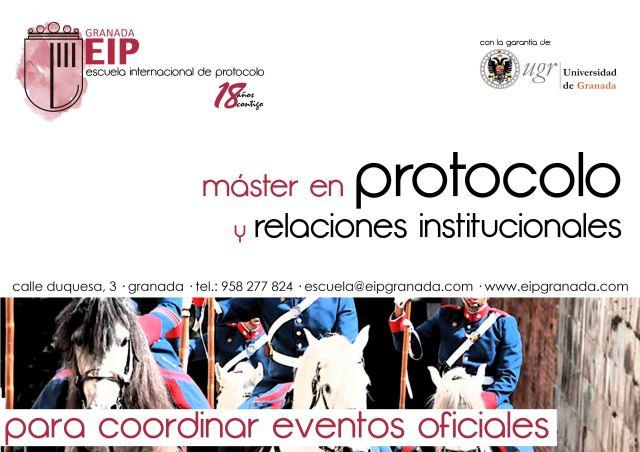 para coordinar eventos oficiales master en protocolo