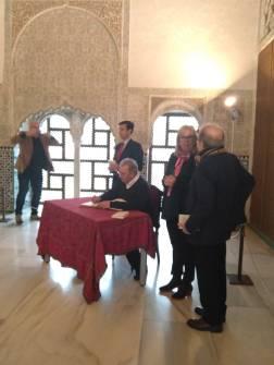 La #eipalumni Irene Martínez en el homenaje a Darío Jaramillo, ganador del XV Premio Lorca de Poesía